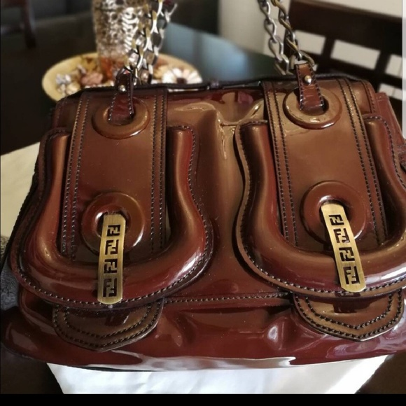 db29435f4f5 Fendi Bags   Patent Leather B Bag   Poshmark